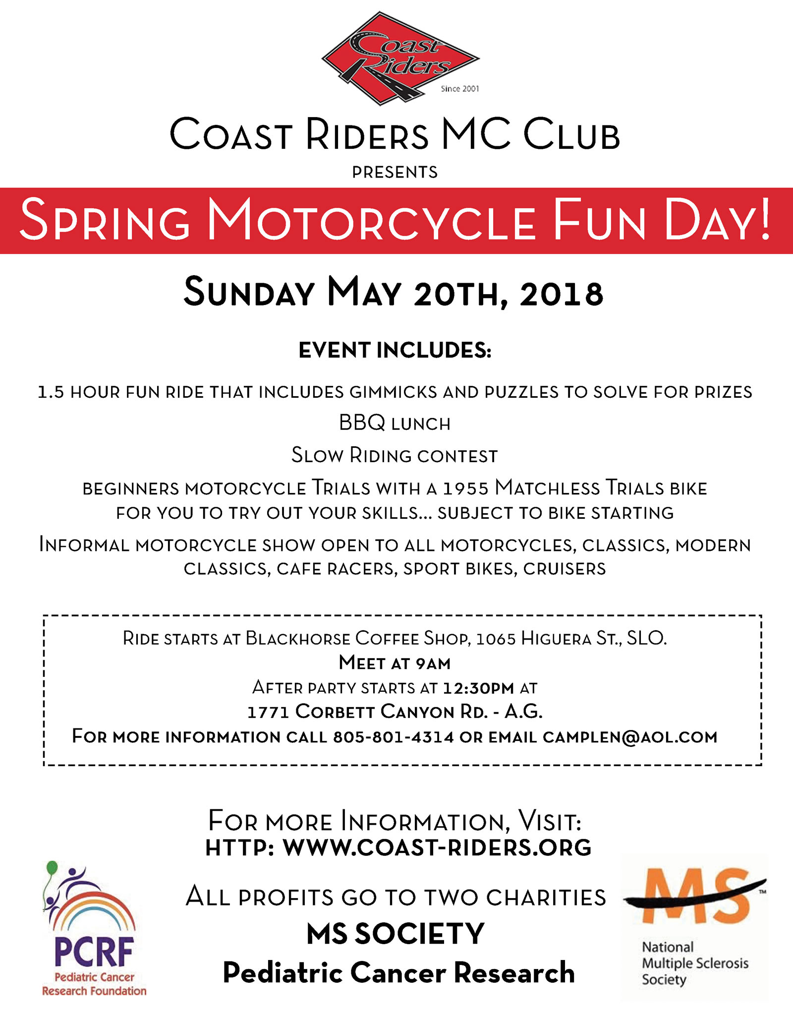 Spring Motorcycle Fun Day!